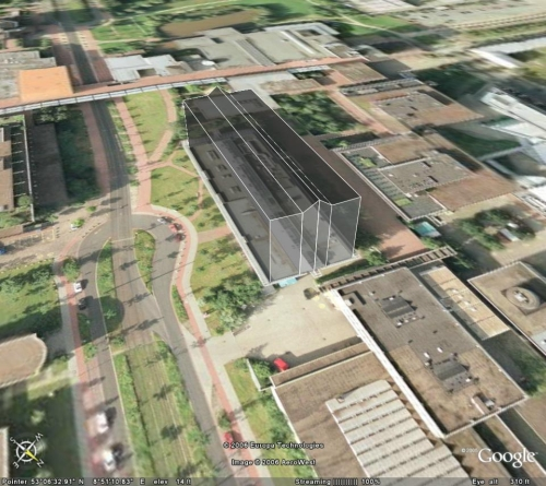 Some basics creating 3D buildings in google earth kml files